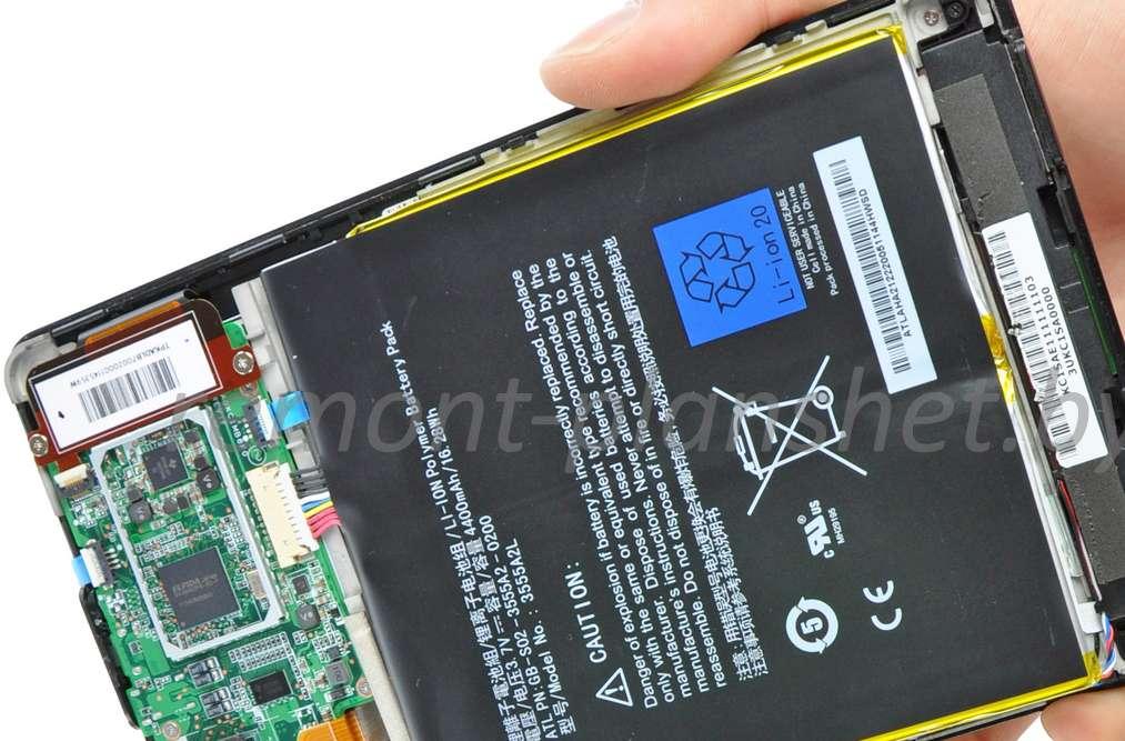 замена батареи Amazon
