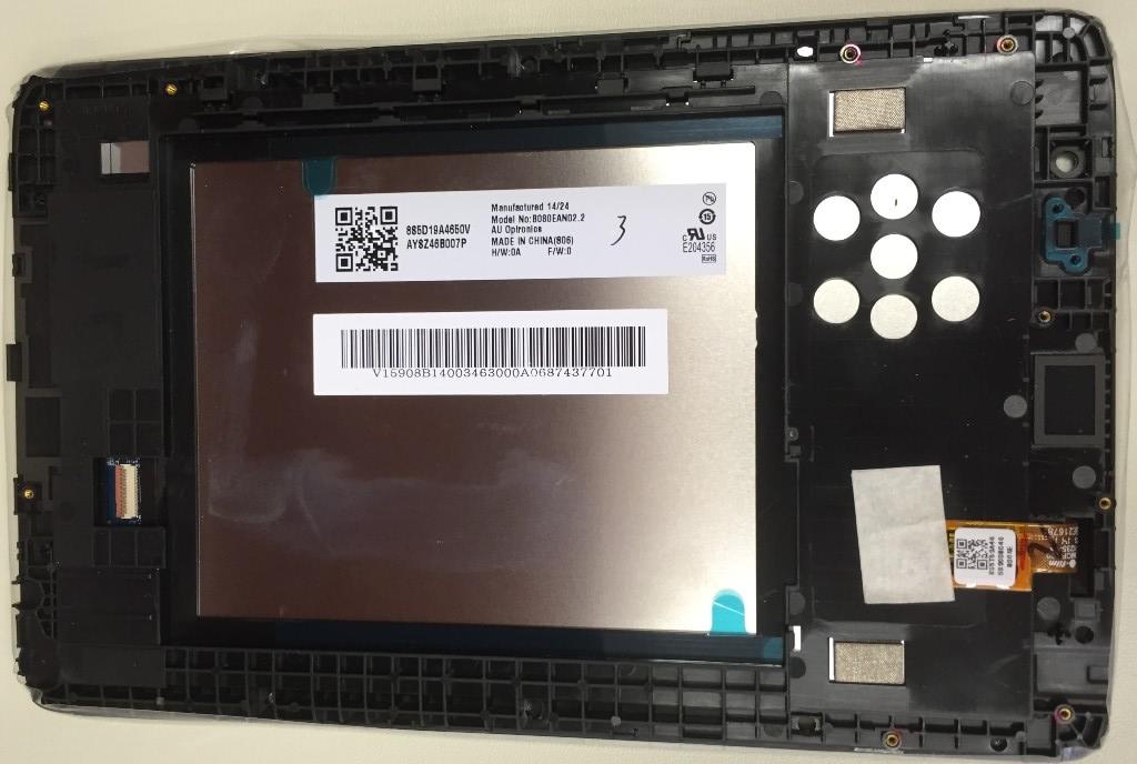 разборка планшета Lenovo IdeaTab А8-50 A5500