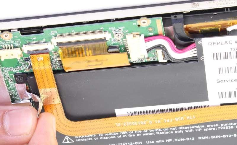 ремонт планшета Hewlett-Packard
