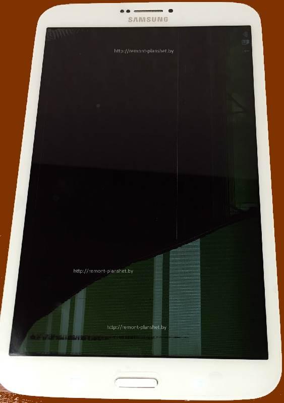 разбитый экран Samsung SM-T311