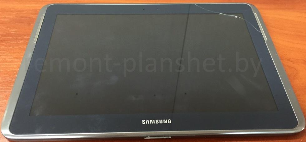 разбитый экран Samsung
