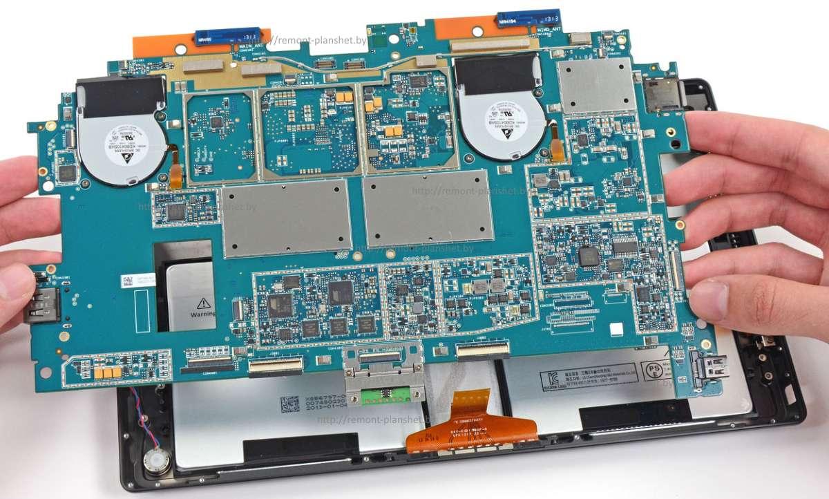 ремонт планшета Surface