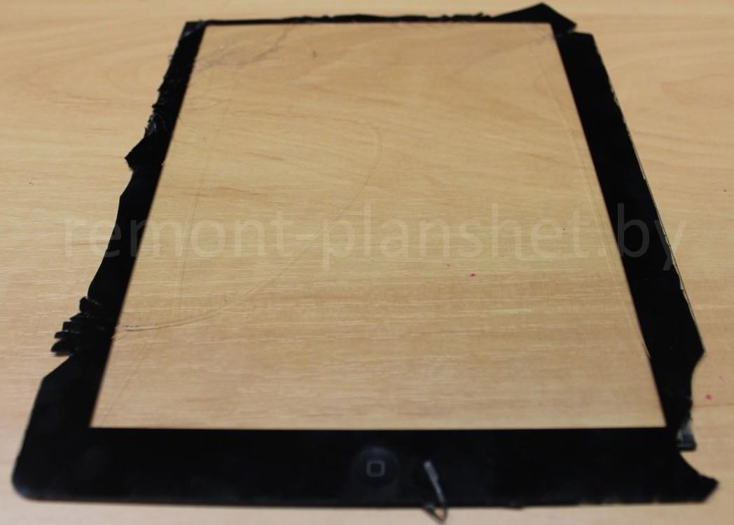 сломанный тачскрин iPad
