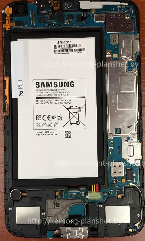 разборка Samsung Galaxy Tab 3 8.0 SM-T311
