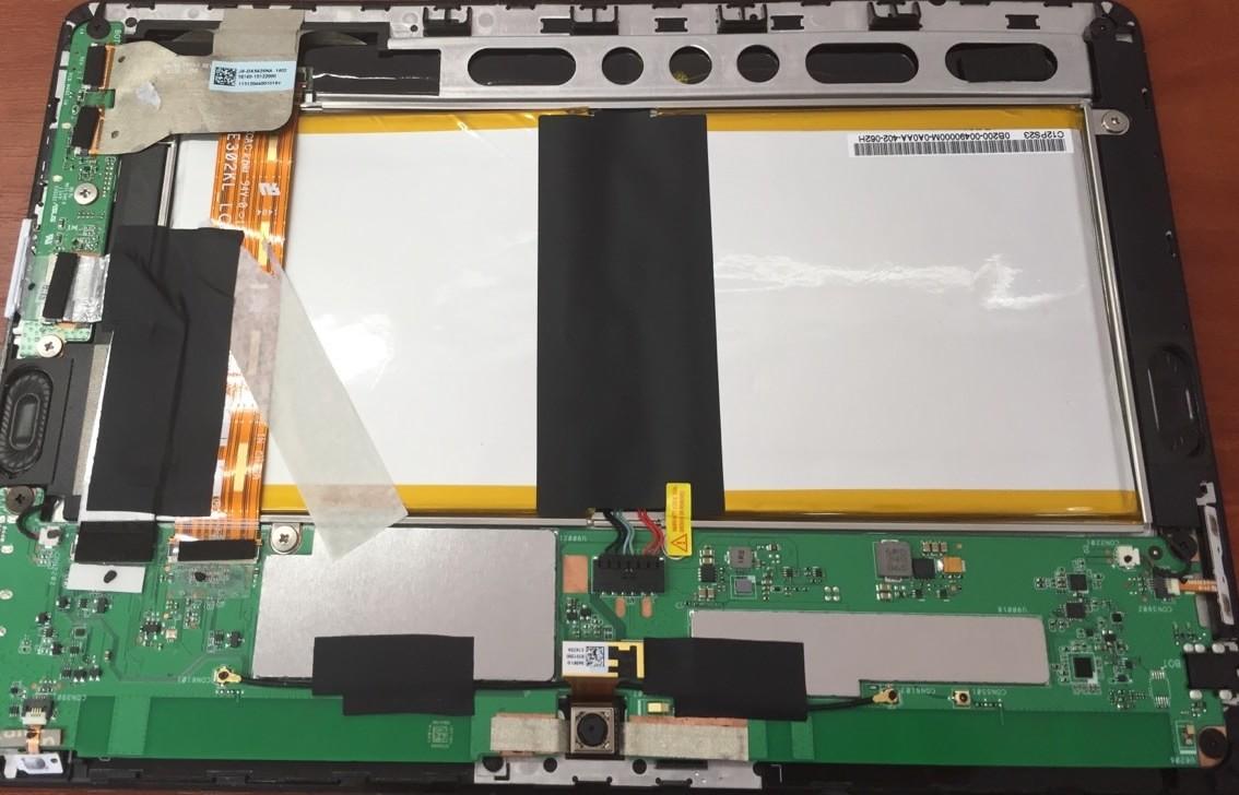 разборка планшета Asus K005