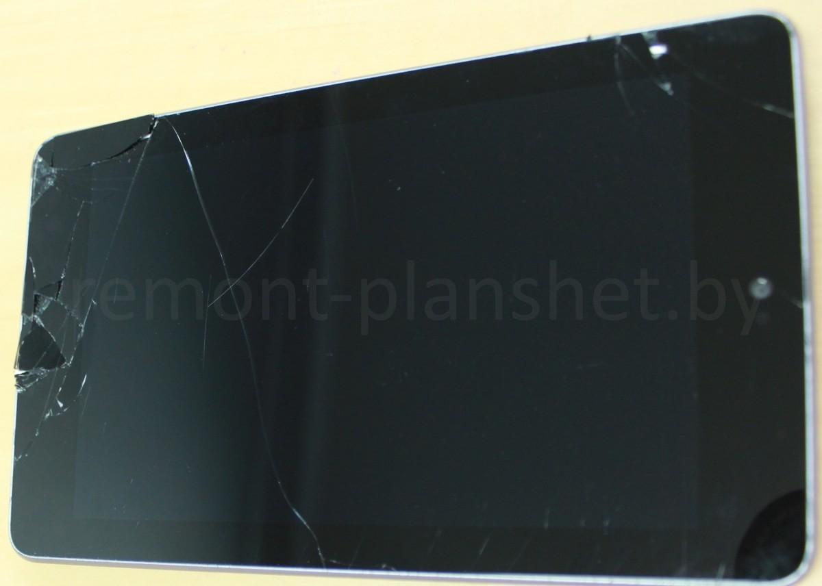 разбитая матрица Asus Google Nexus 7