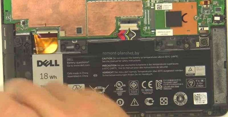 замена батареи Dell