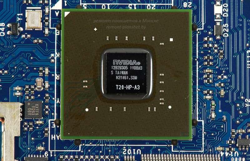 ремонт чипа материнской платы планшета Acer